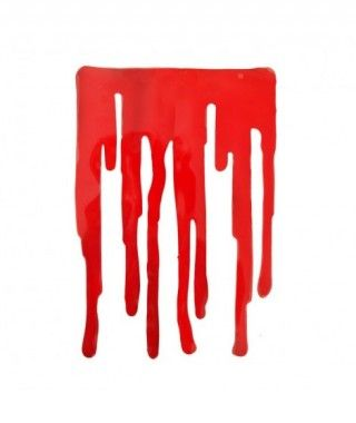 Pegatina de Gel Sangre