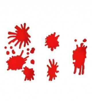 Manchas de Sangre Pegatinas Gel