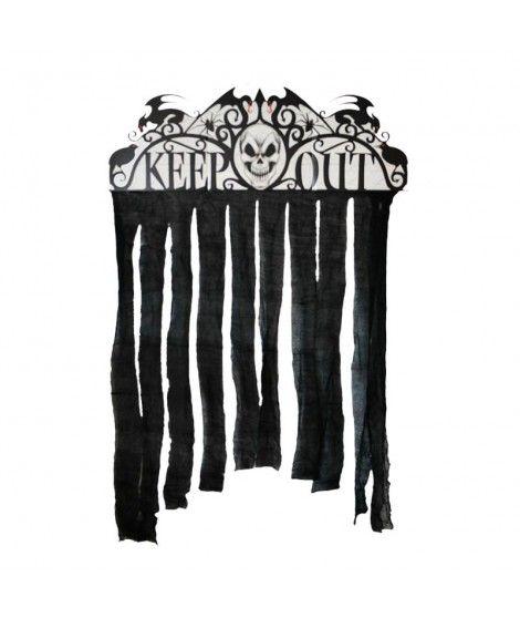 Cortina Decorativa Keep Out