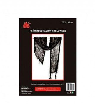 Paño Negro Decorativo 76 x 198 cm