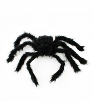 Araña Negra Peluda Decorativa