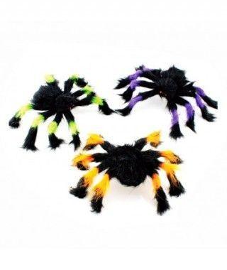 Araña Peluda Colores Decorativa