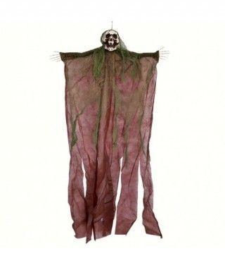 Colgante Calavera Verde 120 cm