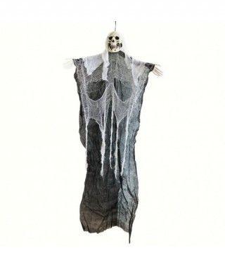 Colgante Calavera Negra 150 cm