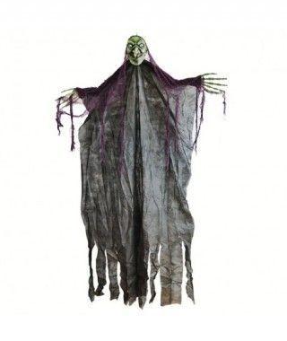 Colgante Bruja Negra con Luz 170 cm