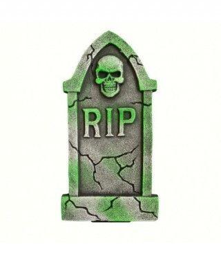 Lápida RIP Calavera