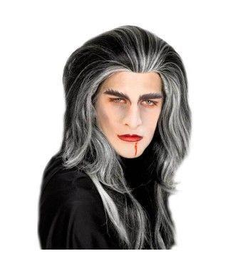 Peluca Vampiro Mechas
