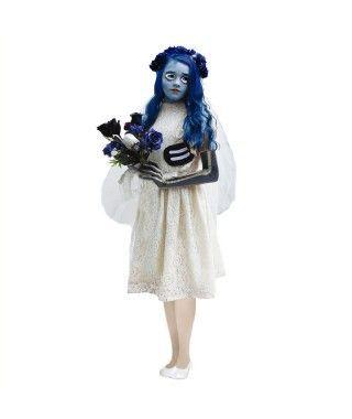 Disfraz Novia Cadáver para niña