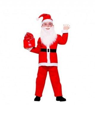 Disfraz Papá Noel niño infantil para Navidad