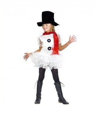 Disfraz Muñeca de Nieve para niña
