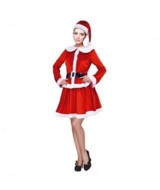 Disfraz Mamá Noel para mujer Deluxe