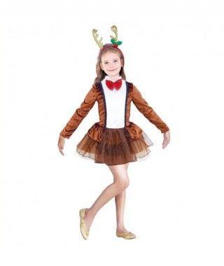 Disfraz Reno Dancer para niña
