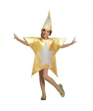 Disfraz Estrella Dorada infantil