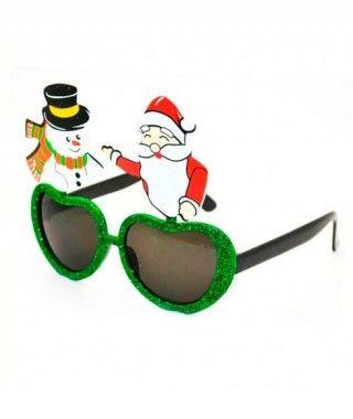 Gafas Navideñas Purpurina