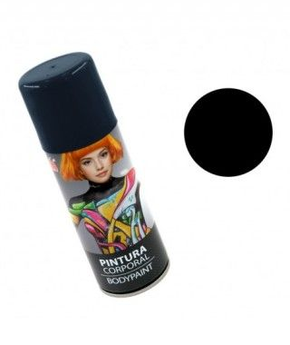 Body Paint Spray Negro (200...