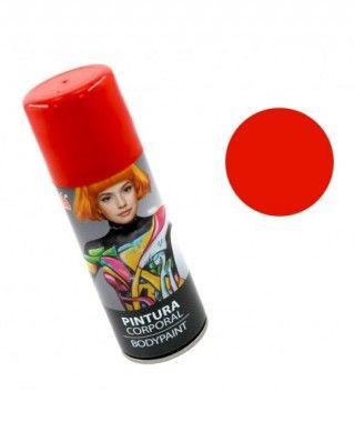 Body Paint Spray Rojo (200 ml)