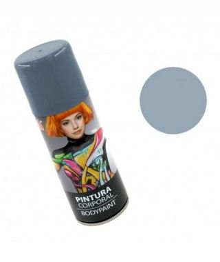 Body Paint Spray Gris (200 ml)