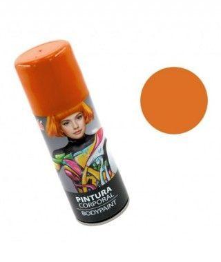 Body Paint Spray Naranja (200 ml)