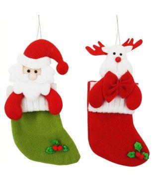 Calcetín Navidad Decoración