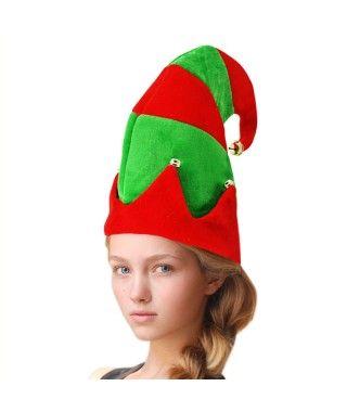 Gorro Navidad Elfo rayas