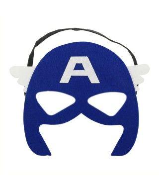 Antifaz Héroe América Fieltro
