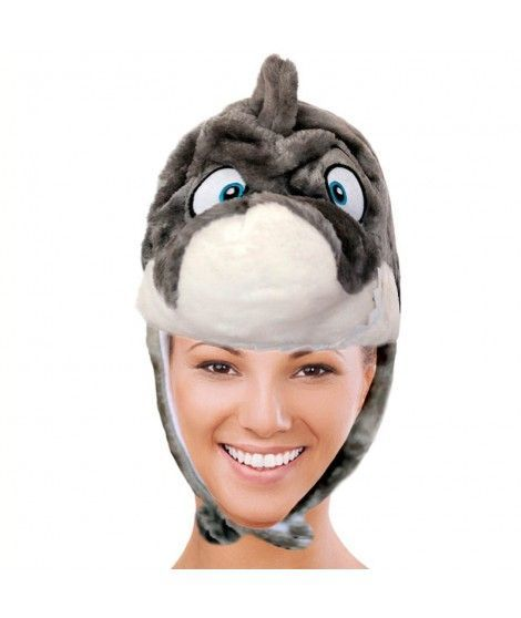 Gorro Tiburón de Peluche
