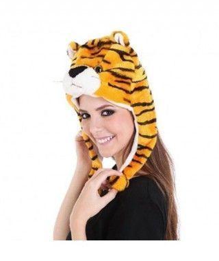Gorro Tigre de Peluche