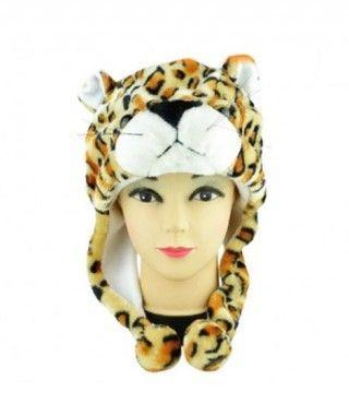 Gorro Leopardo de Peluche