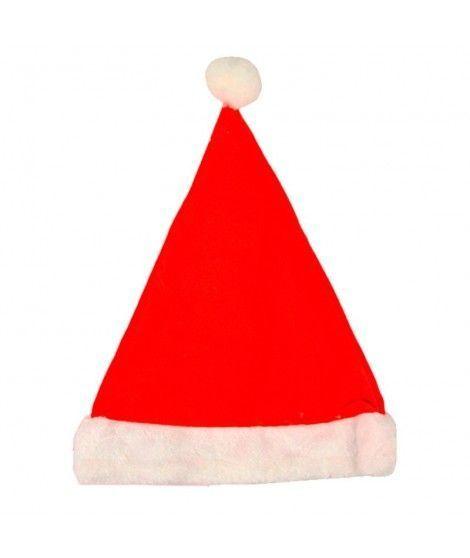 Gorro Navidad Papá Noel infantil Terciopelo Borde Fieltro