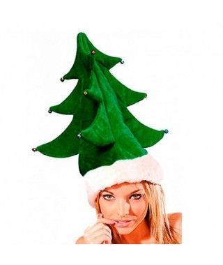 Gorro Navidad Árbol