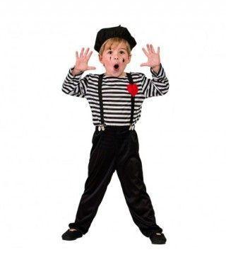 Disfraz Mimo para niño