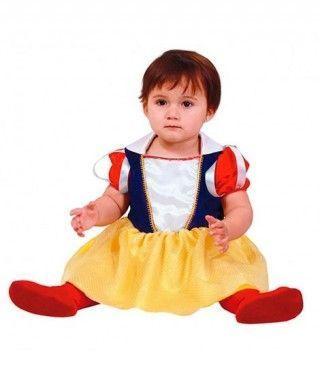 Disfraz Princesita Blancanieves para Bebé