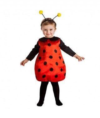 Disfraz Mariquita Little Ladybug para Bebé