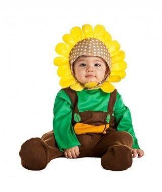 Disfraz Girasol para Bebé