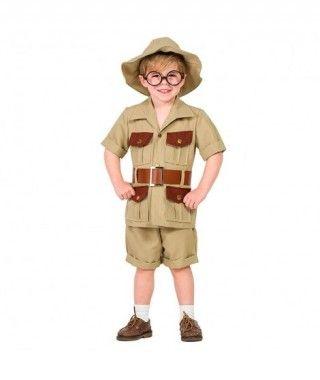 Disfraz Explorador para niño