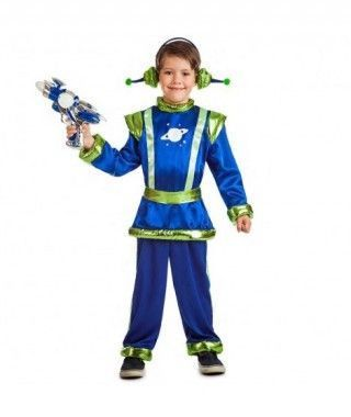 Disfraz Marciano Retro para niño