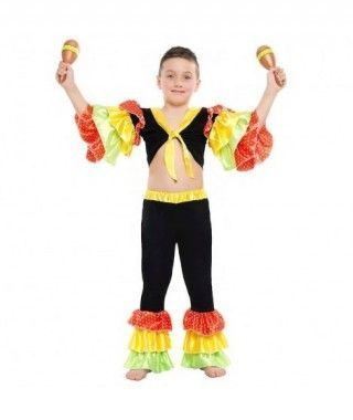 Disfraz Rumbero Dancer Lunares para niño