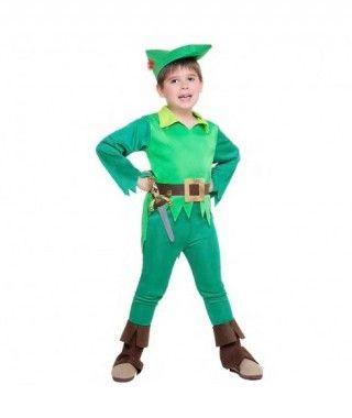 Disfraz de Peter Pan Fairytale para niño
