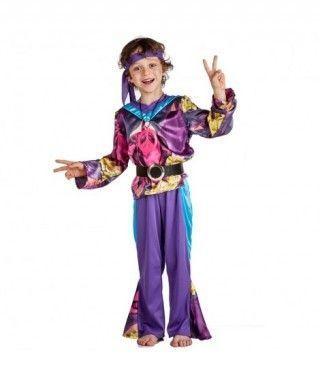 Disfraz Hippie Fancy para niño