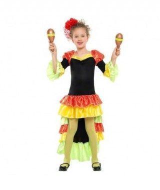 Disfraz Rumbera Dancer para niña
