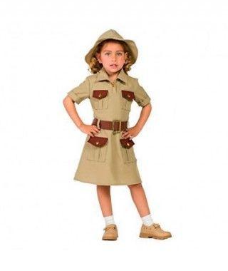 Disfraz Exploradora para niña