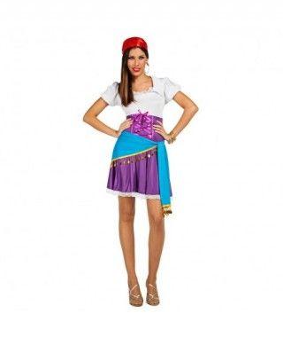 Disfraz Gitana Zíngara para mujer