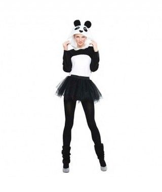 Disfraz Oso Panda Tutú para mujer