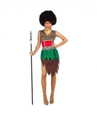 Disfraz Africana Jungla para mujer