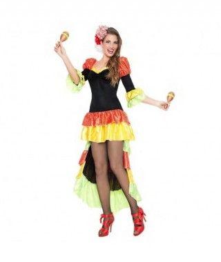 Disfraz Rumbera para mujer