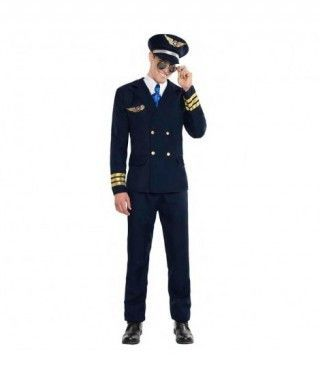 Disfraz Piloto Avión para hombre