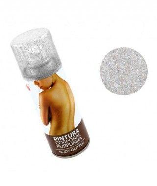 Body Glitter Plata (200 ml)