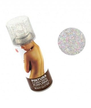 Body Glitter Mixto Oro y Plata (200 ml)