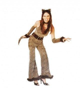 Disfraz Leopardo mono para Mujer