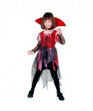 Disfraz Vampiresa Gótica tul para Niña